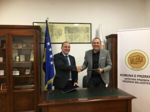 Forum for Development and Multiethnic Collaboration/FDMC signed MOU with the Mayor of Prizren municipality